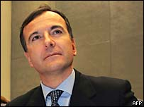 Franco Frattini, EU justice commissioner