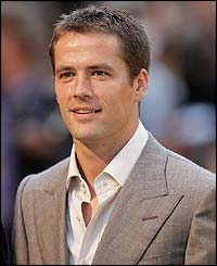 Newcastle's Michael Owen arrives for the Premiere of Goal