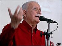 Jos� Vicente Rangel, vicepresidente de Venezuela