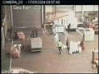 CCTV footage from the Met Police