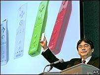 Nintendo boss Satoru Iwata