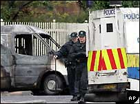 violence north Belfast