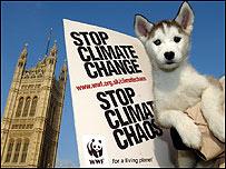 Protestas contra el cambio climático en Londres