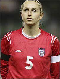 Faye White on being England skipper