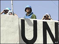 UN peacekeepers in Lebanon