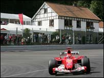Spa-Francorchamps in the Ardennes mountains is probably the world's greatest motor racing circuit