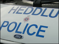 Welsh police vehicle