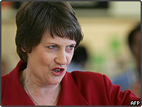 Leader of the Labour Party, New Zealand Prime Minister Helen Clark