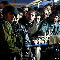 Hawara checkpoint, Nablus