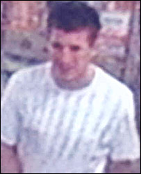 CCTV image of racial abuse suspect