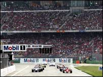 Hockenheim's Stadium section is always filled to the brim with Michael Schumacher fans
