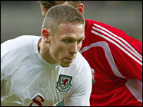 Craig Bellamy took his Wales scoring tally to nine with his brace