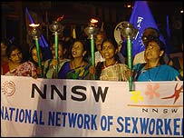 Sex workers (photo courtesy: DMSC)