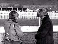 Camilla Parker Bowles and Princess Diana