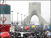 Rally in Tehran