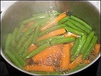 Olla con vegetales