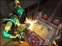Screenshot from Quake III computer game