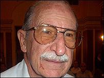 Doctor Eugenio Zelman, m�dico personal de Fidel Castro y presidente del club de los 120 a�os