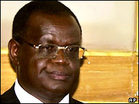 Kenya's Justice Minister Kiraitu Murungi