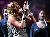 Joss Stone at Brit Awards