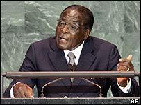 Zimbabwe President Robert Mugabe