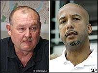 Vice Adm Thad Allen (left) and New Orleans Mayor Ray Nagin
