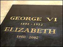 Tomb of George VI and the Queen Mother