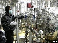 An Iranian nuclear scientist