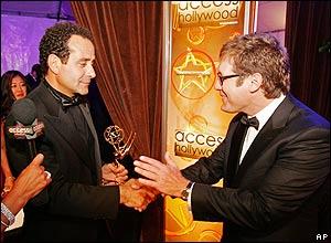 Tony Shalhoub and James Spader