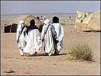 Niger nomads