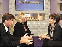 Cherie Blair on a previous Richard and Judy show