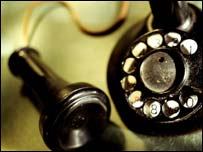 Old-fashioned phone, Eyewire
