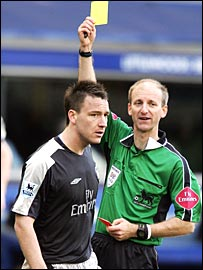 Mike Riley books Chelsea's John Terry