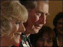 Camilla Parker Bowles and Prince Charles on Thursday