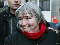Lynne Stewart after her conviction
