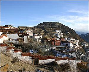 Monasterio de Ganden.