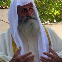 Mandean priest Maajis Saeb