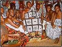 Asantehene Otumfuo Osei Tutu II in council