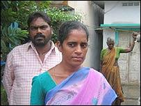 Lakshmi and husband