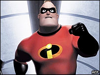 Hero from The Incredibles movie