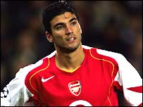 Arsenal's Jose Antonio Reyes - Action Images