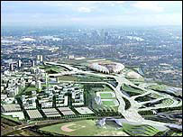 London's proposed Olympic Park