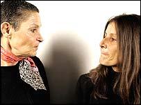 Israeli Robi Damelin and Palestinian Nadwa Sarandah