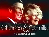 Charles and Camilla screen grab