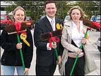 Charles Dundas and colleagues - Scottish Lib Dems