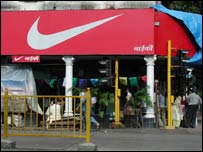 Nike shop in Mumbai