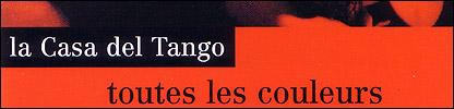 Folleto de tango en Francia