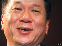 Macau Chief Executive Edmund Ho