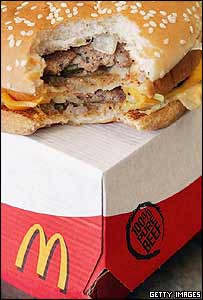McDonald's Big Mac hamburger