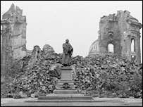 Rubble in Dresden